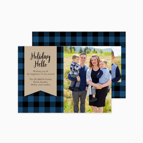 Holiday | Blue Buffalo Plaid