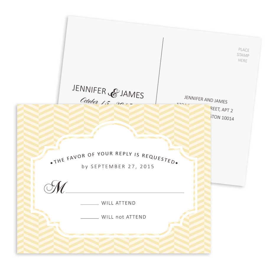 HP Wedding RSVP Postcard 005