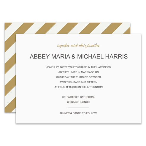 HP Wedding 015 Invite