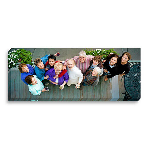 12x30 Mirrored Image Wrap