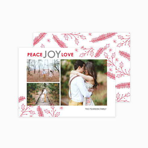 Holiday | Peace Joy Love