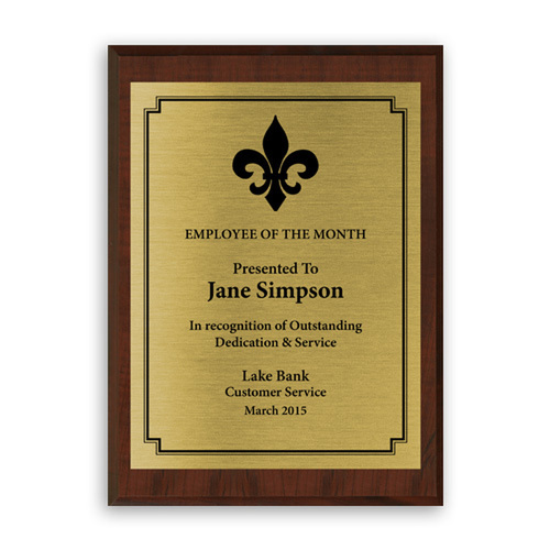 Gift - Award Plaque